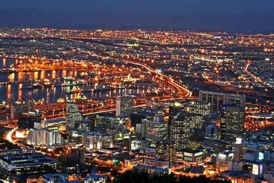 Cape Town về đêm