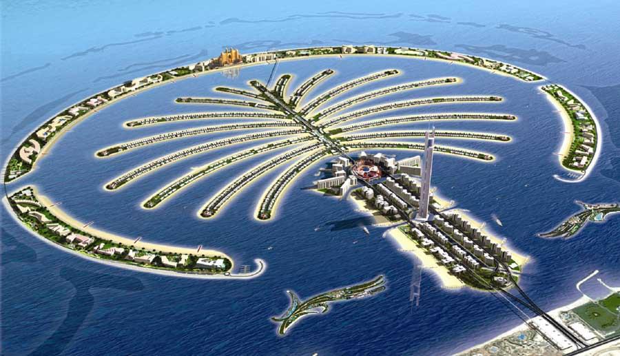 Đảo cọ nhân tạo Palm Jumeira