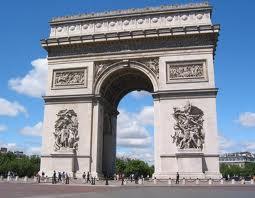 """Оригинал - Схема вышивки  """"Париж.  Триумфальная арка """" - Схемы автора  """"beezzz """" - Вышивка крестом."""