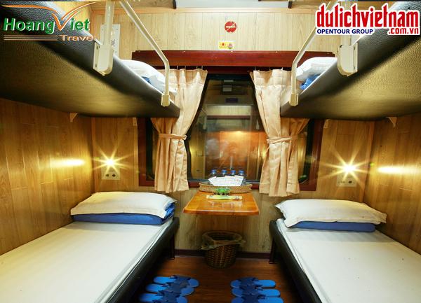 tàu giường nằm trong tour du lịch trung quốc