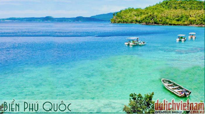 Biển xanh - Phú Quốc