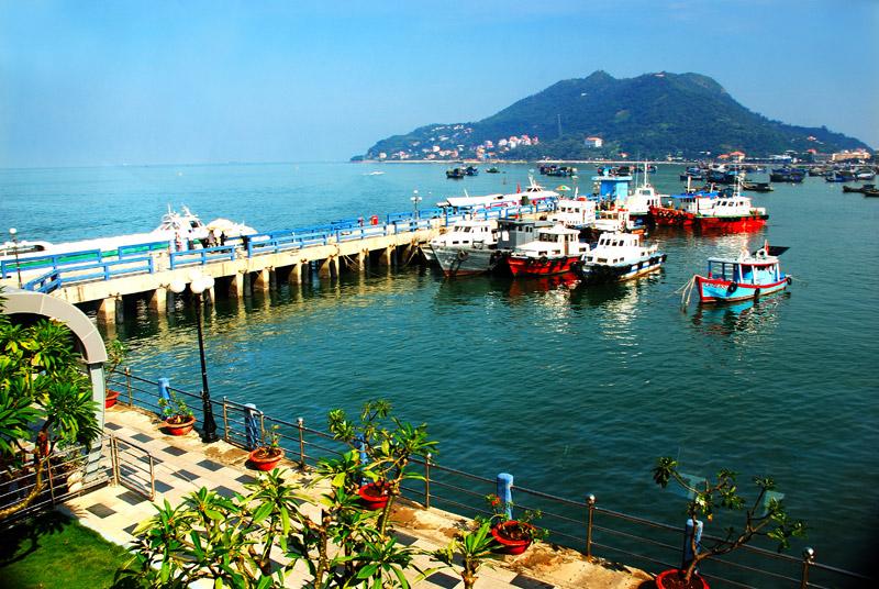 Cảnh biển Vũng Tàu