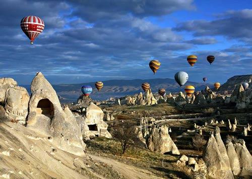 du lịch thổ nhĩ kỳ Cappadocia