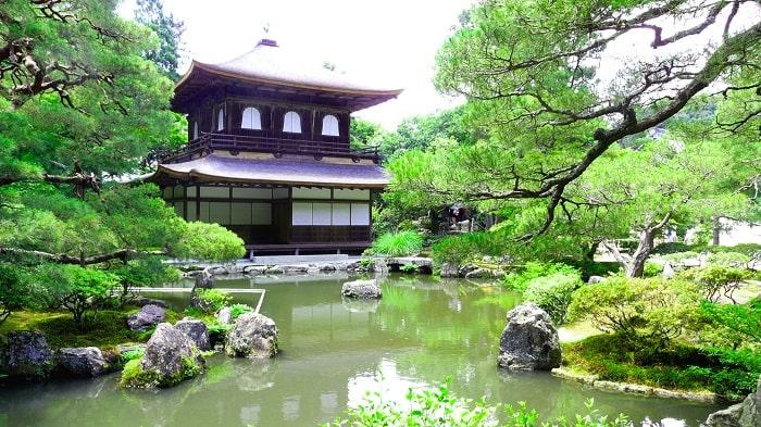 Kết quả hình ảnh cho Chùa Bạc - Ginkaku-ji