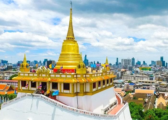 Chùa núi vàng Wat Saket