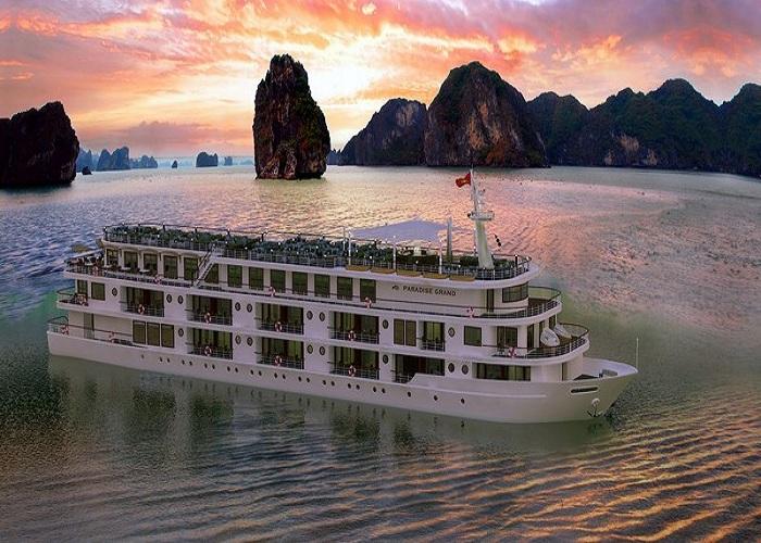 Du thuyền Paradise Grand 5 sao