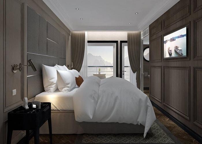 Phòng ngủ trên du thuyền