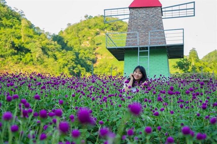 Check-in KDL Mộc Châu Happy Land