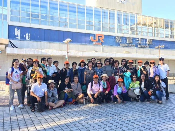 Đoàn khách du lịch Nhật Bản
