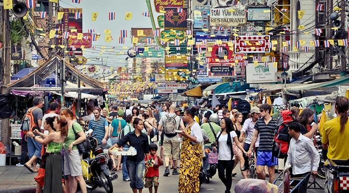 Khu phố Khao San - nhộn nhịp khách balo