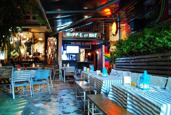 Hippie de Bar Khao San Thái Lan