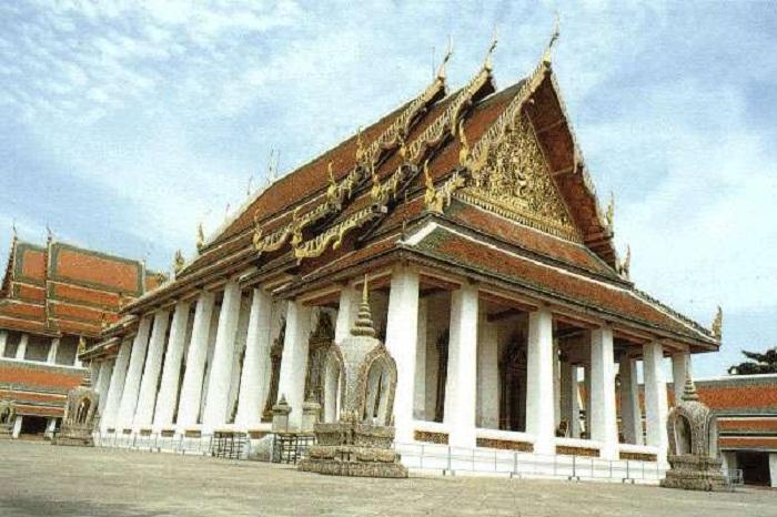 Wat Bowonniwet Vihar Khao San Thái Lan