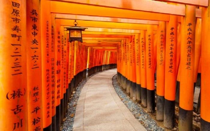 Ngôi đền nghìn cổng – Fushimi Inari