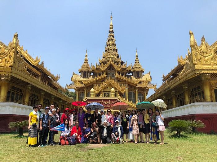 khách đoàn Myanmar