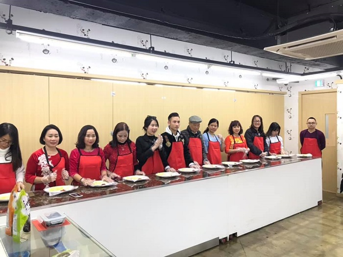 Đoàn khách trải nghiệm các hoạt động thú vị tại Hàn Quốc