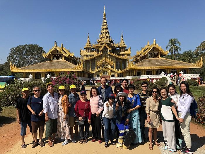 Đoàn khách du lịch Myanmar