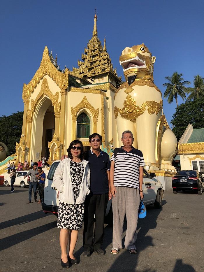 Chiêm ngưỡng những ngôi chùa nổi tiếng ở Myanmar