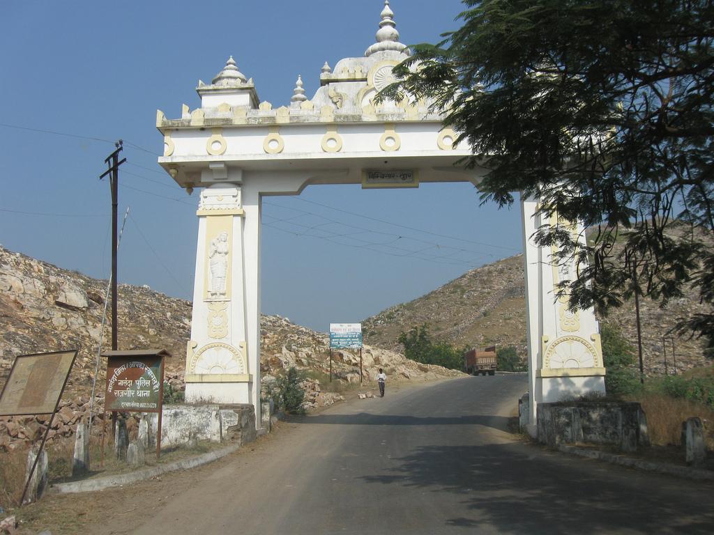 Cồng Vào Vương Xá Thành Ấn Độ