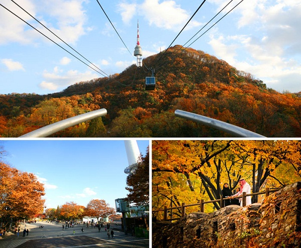 Getting Here gt By Bus  N SEOUL TOWER