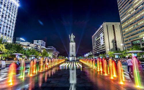 Kết quả hình ảnh cho quảng trường Gwang Hwa Moon