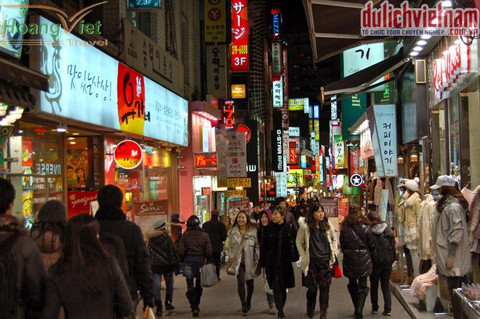 Khu mua sắm Myeongdong
