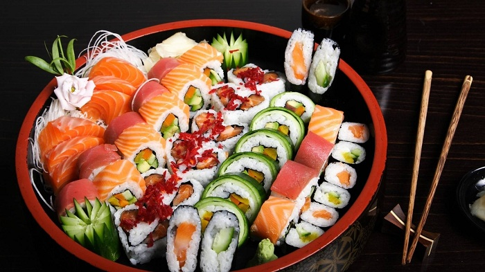 Món Sushi Hàn Quốc
