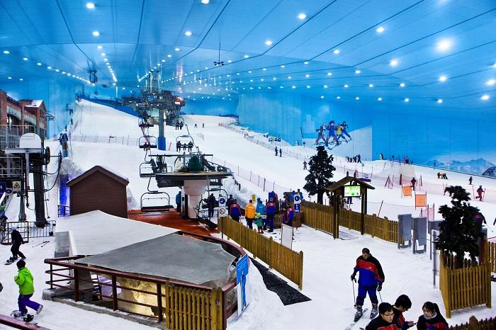 Khu trượt tuyết của công viên Everland