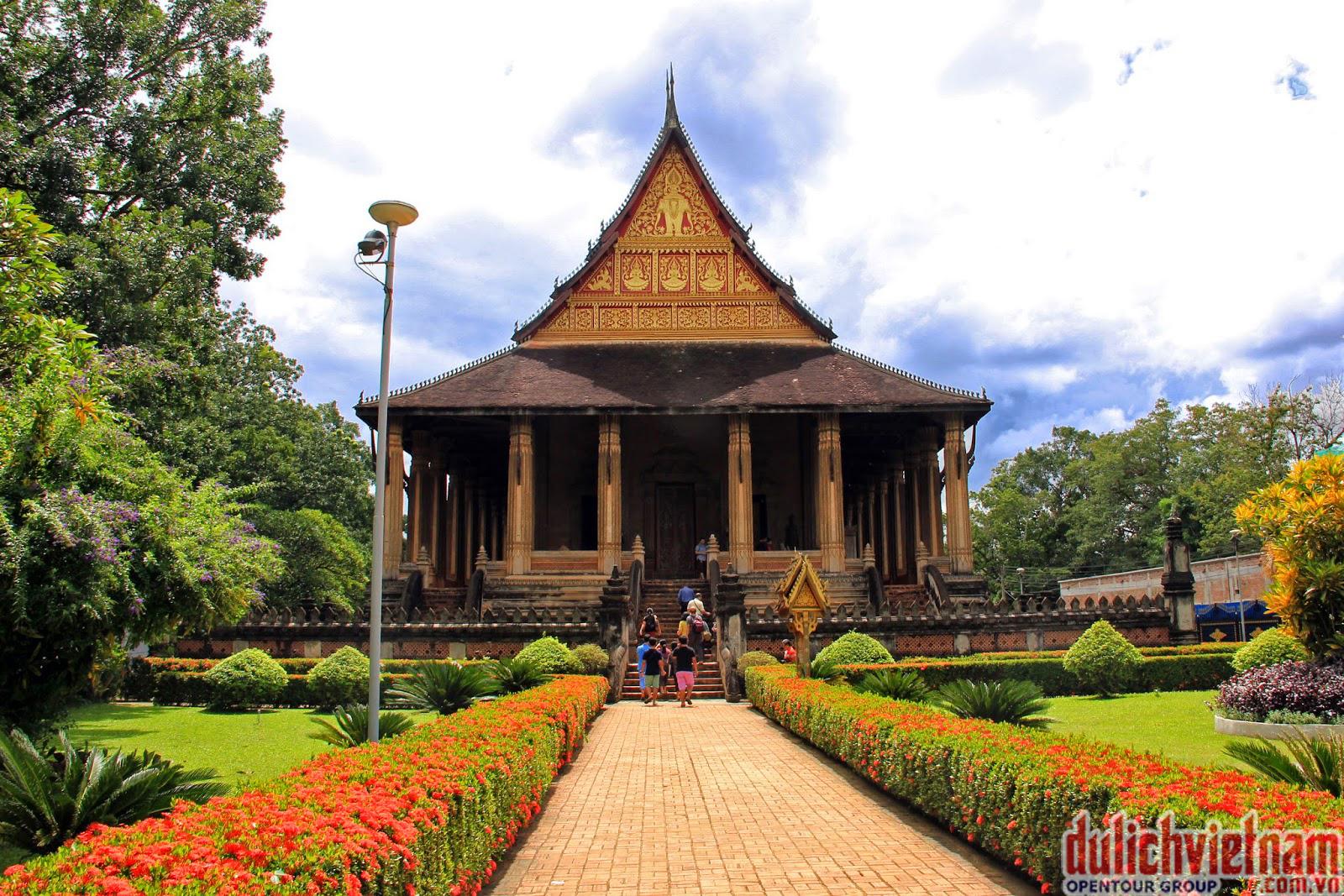 Ho Pha Keo - ngôi đền tiền triều nơi lưu giữ Ngọc Lục bảo quý giá của Phật từ thuở ban sơ của triều vua Lane Xang