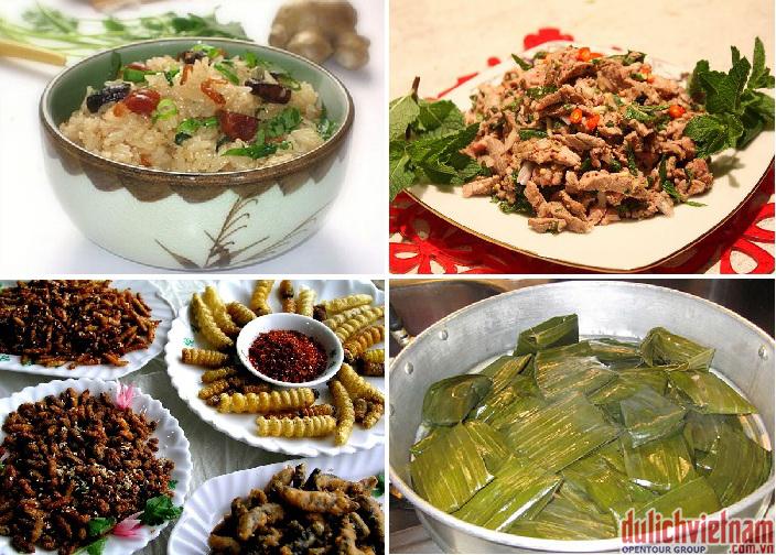 Thưởng thức nhiều món ăn đặc sản nổi tiếng của Lào