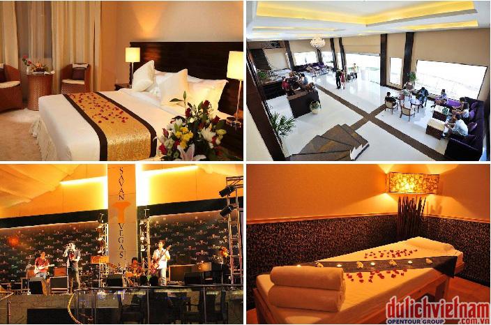 Khách sạn với đầy đủ tiện nghi, dịch vụ