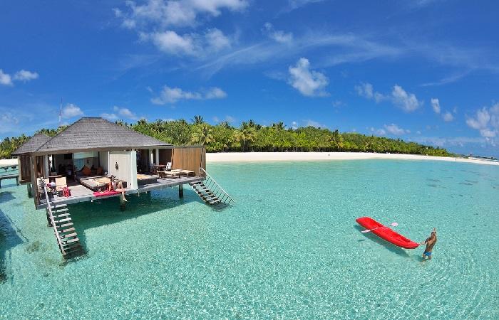 Các cặp tình nhân thư giãn tại Maldives