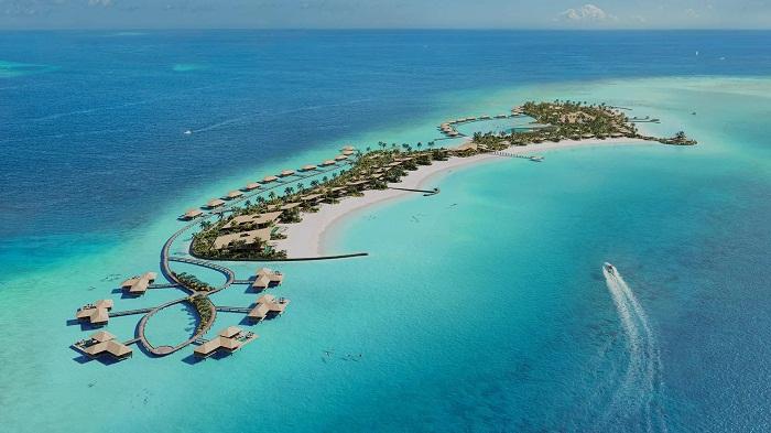 Maldives nhìn trên cao xuống