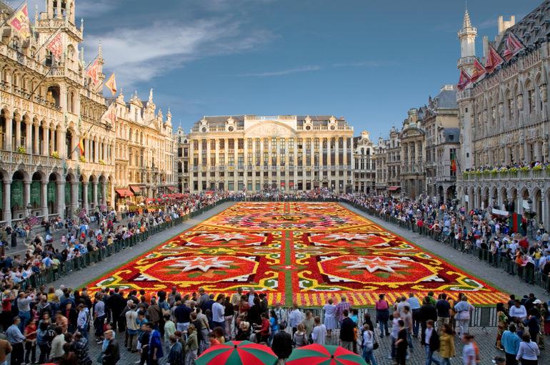 Phố cổ Brussels