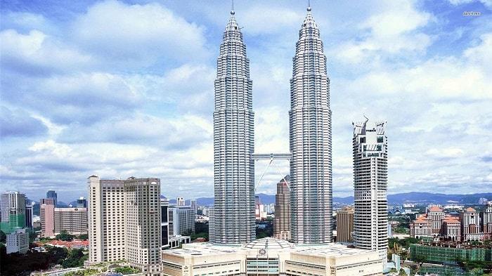Tòa tháp đôi Petronas Towers