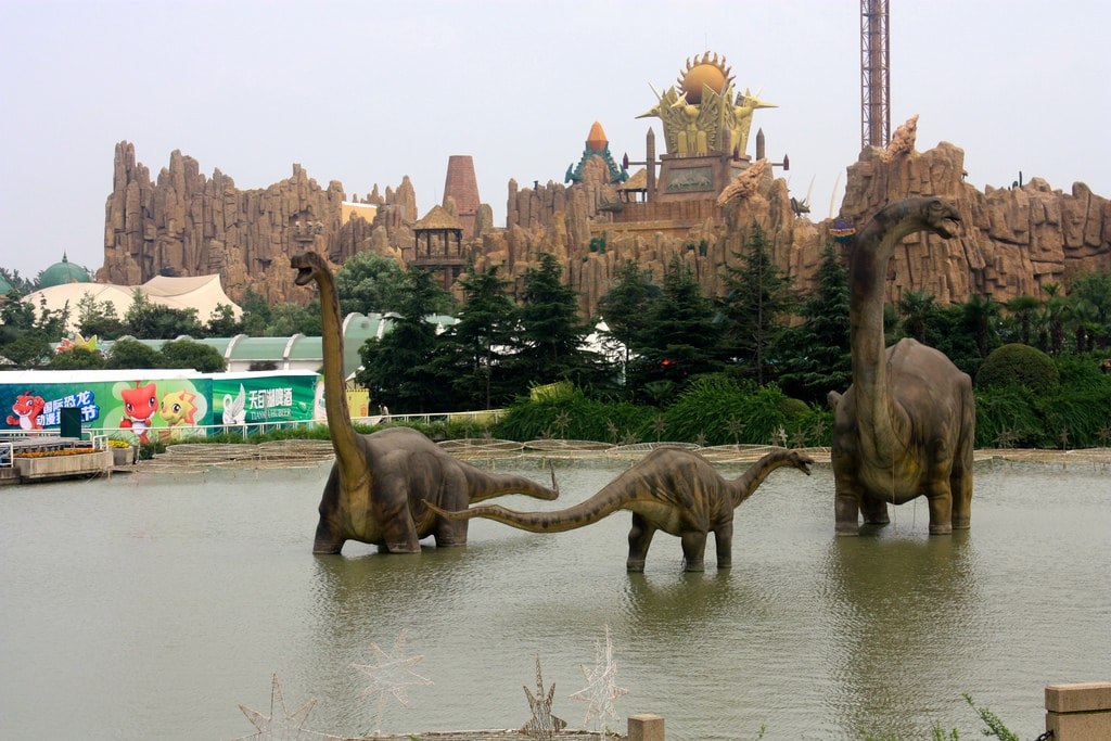 Kết quả hình ảnh cho công viên khủng long nam ninh