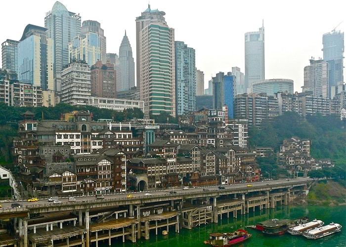 Thành phố thẳng đứng Trùng Khánh