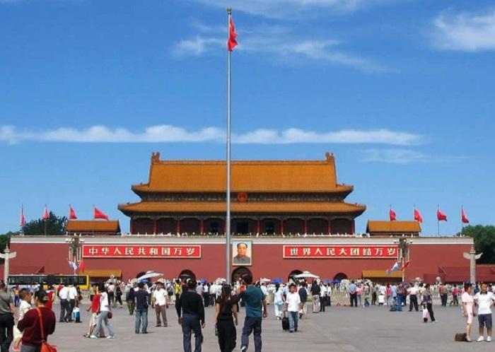 quảng trường Thiên An Môn tour trung quốc