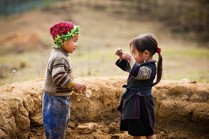Trẻ em miền núi có nét đẹp rất đặc biệt