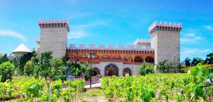 Kết quả hình ảnh cho Lâu đài rượu vang RD