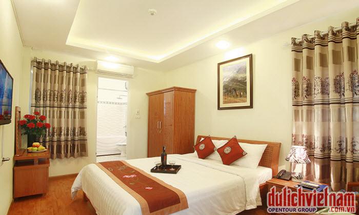 Phòng nghỉ của khách sạn Việt Hằng Quan Lạn
