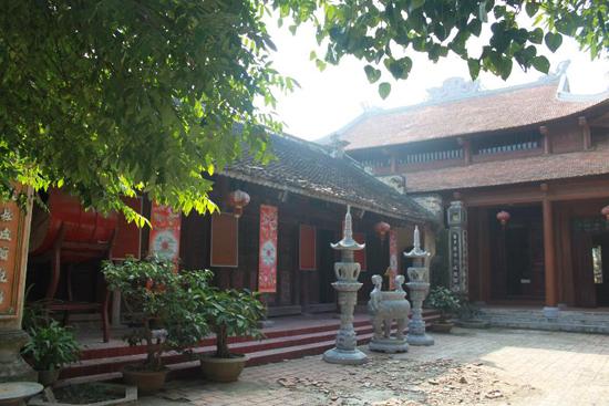 Chùa Cô Tiên với vẻ đẹp cổ kính qua ngàn năm