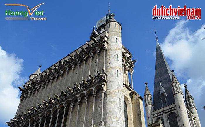 Nhà thờ Đức Bà Dijon Notre Dame