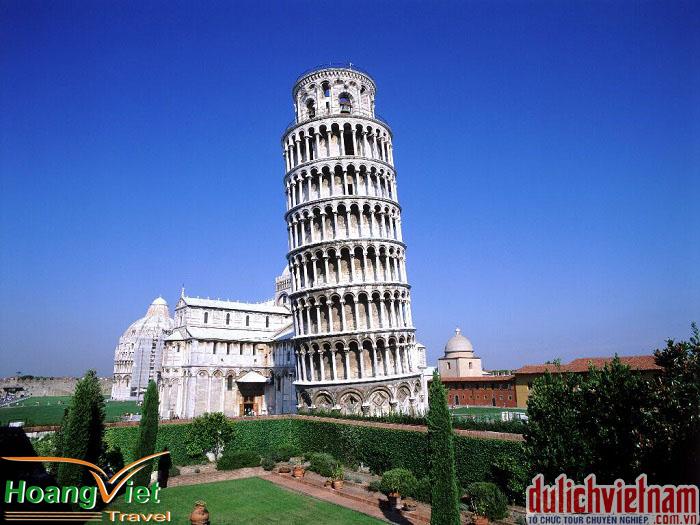 Tháp ngiêng Pisa