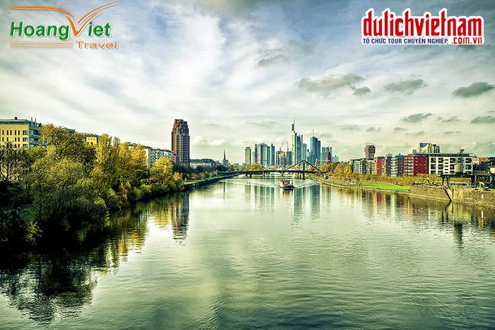 Thành phố Frankfurt yên bình
