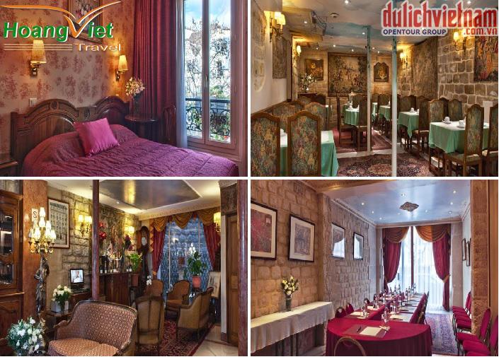 Khách sạn với đầy đủ tiện nghi, sang trọng, hiện đại