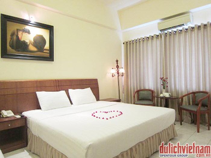 Phòng ngủ tại Côn Đảo resort