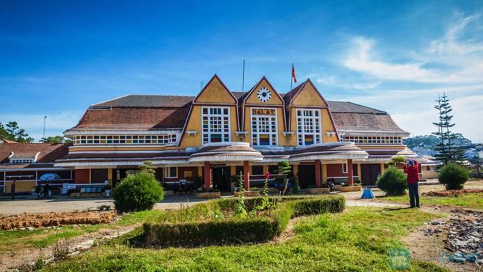 Nhà ga cổ đẹp nhất Đông Dương