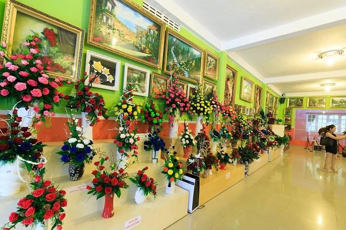 Show room hoa khô Đà Lạt