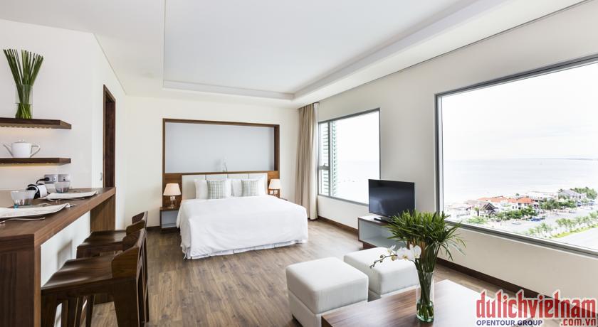 Phòng ngủ sang trọng, với đầy đủ tiện nghi