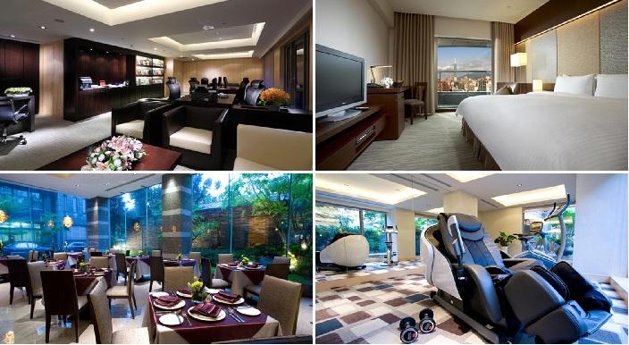 Khách sạn 4 sao sang trọng, hiện đại, đầy đủ tiện nghi tại Đài Loan